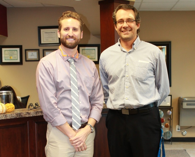 Dr Klooster and Dr Proulx