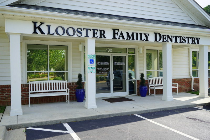 Klooster Dentist Holly Springs Office